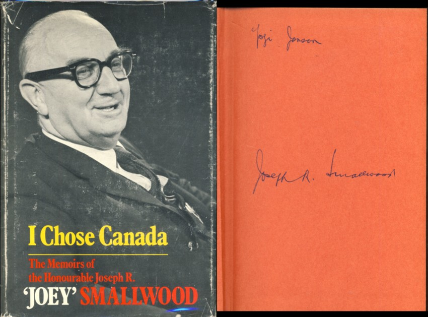 Image for I Chose Canada: The Memoirs of the Honourable Joseph R. 'Joey' Smallwood