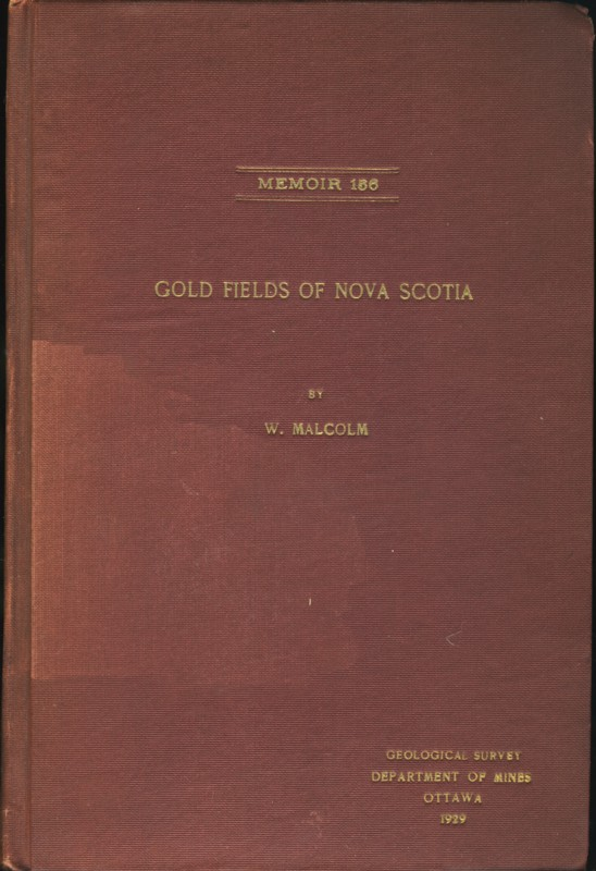 Image for Gold Fields of Nova Scotia