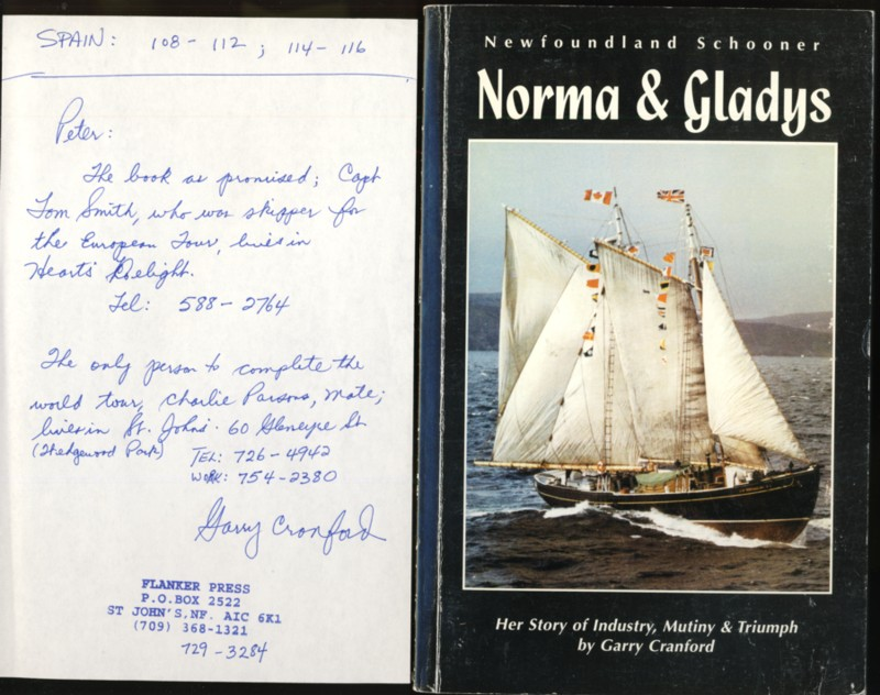 Image for Newfoundland Schooner: Norma & Gladys Her Story of Industry, Mutiny & Triumph