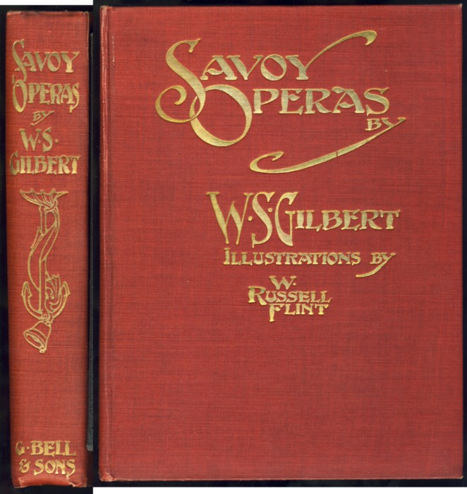 Image for Savoy Operas With Illustrations in Colour by W. Russell Flint
