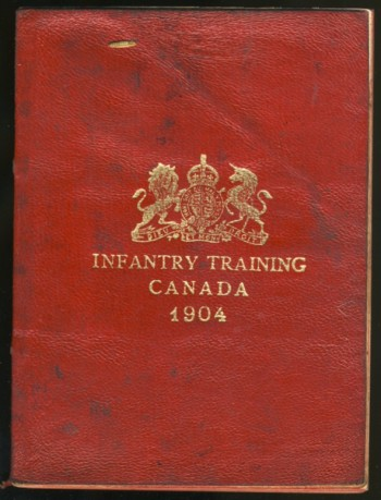 Image for Infantry Training Canada  1904
