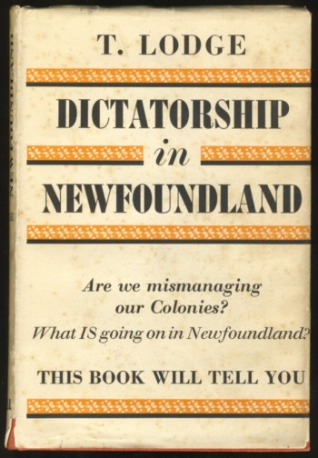 Image for Dictatorship in Newfoundland