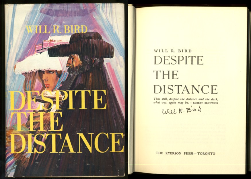 Image for Despite the Distance. (Signed)