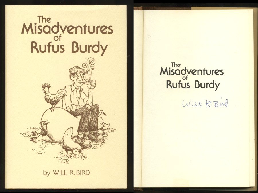 Image for The Misadventures of Rufus Burdy (Signed)
