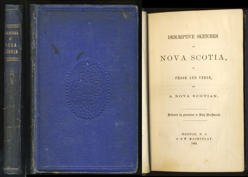 Image for Descriptive Sketches of Nova Scotia, in Prose and Verse, By a Nova Scotian
