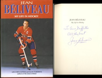 Image for Jean Beliveau My Life in Hockey (Signed)