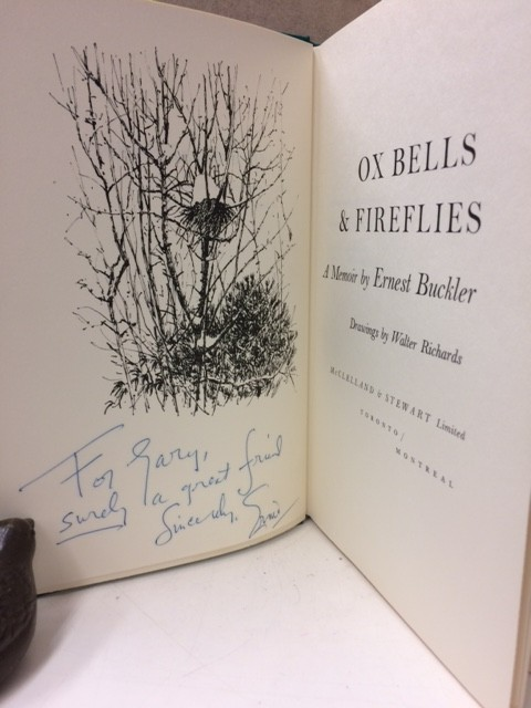 Image for Ox Bells and Fireflies. A Memoir (Signed)