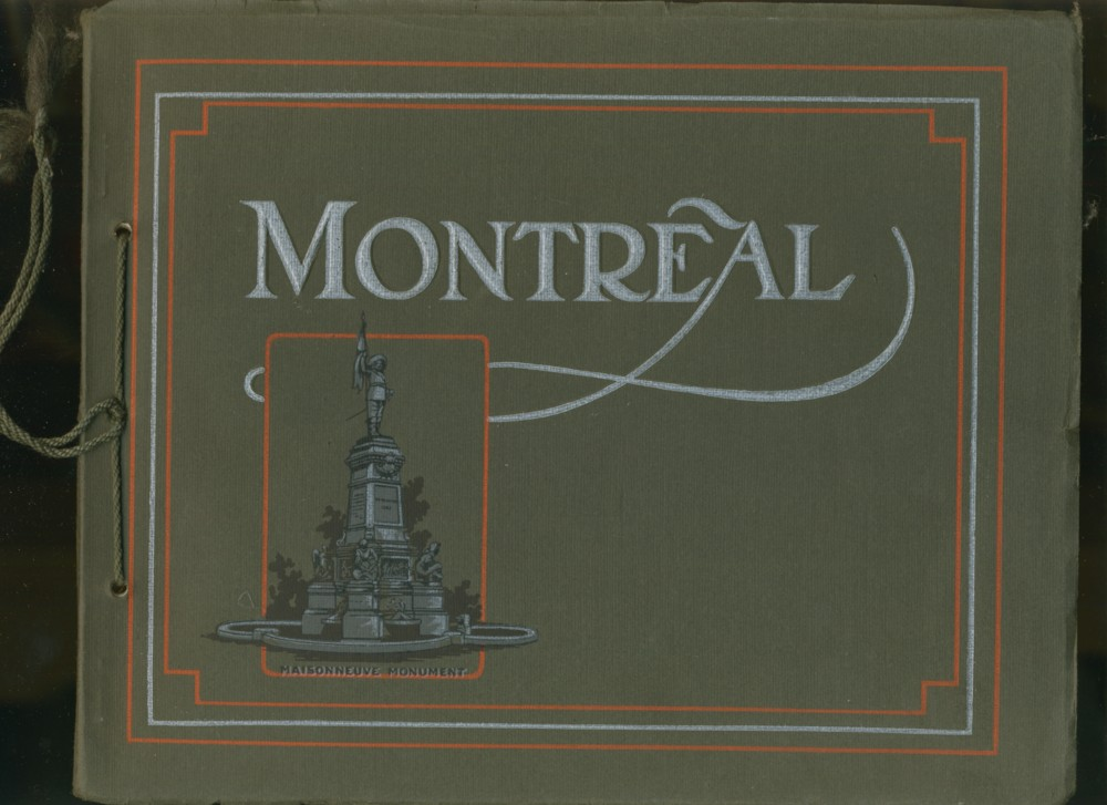 Image for Montreal in Halftone Pictorial Album Intended to Refresh Recollections of Any Visitors and to Serve as an Accurate Guide While Touring the City