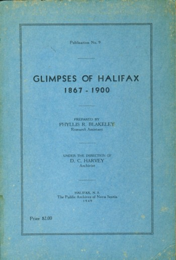 Image for Glimpses of Halifax 1867-1900