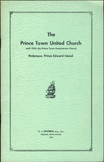 Image for The Prince Town United Church until 1925, the Prince Town Presbyterian Church Malpeque, Prince Edward Island