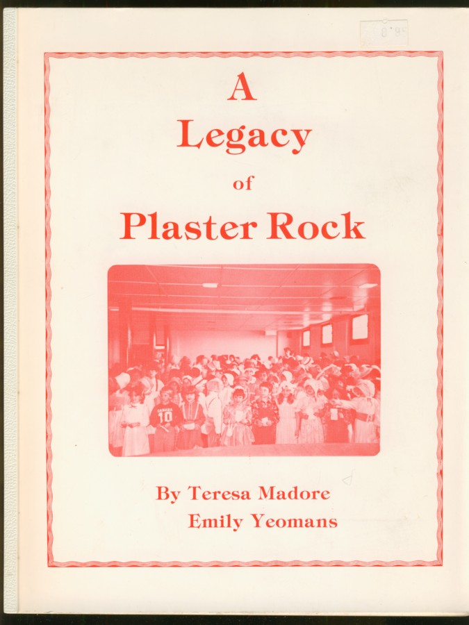 Image for A Legacy of Plaster Rock