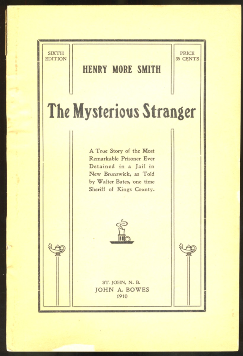 Image for Henry More Smith The Mysterious Stranger