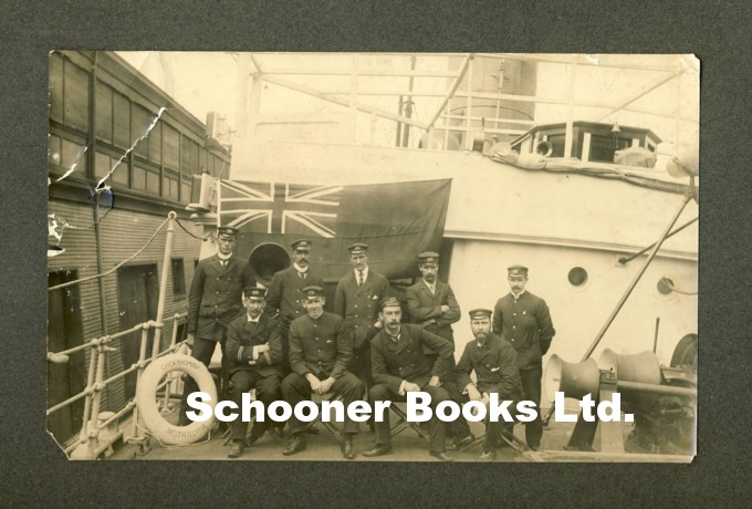 Image for Photograph of the Captain, Officers and Engineers of the SS Chikahominy, Taken at New York, 10.4.03