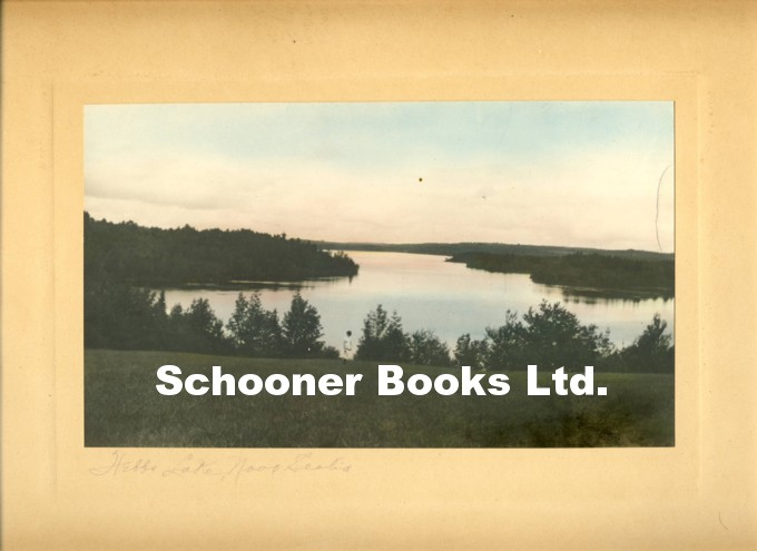 Image for Colourized Photograph of Woman Standing in front of Hebb Lake, Lunenburg Country, Nova Scotia, c.1925