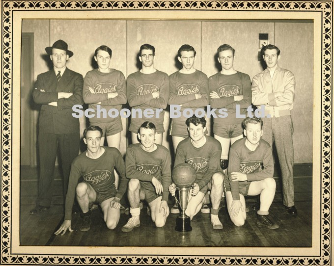 Image for Photograph of the Maritime Intermediate Intercollegiate Champions 1946 - 47 (Nova Scotia Agricultural College Basketball Team)