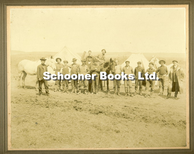 Image for Photograph of Railway Workers in Manitoba, Canada, c. 1880's