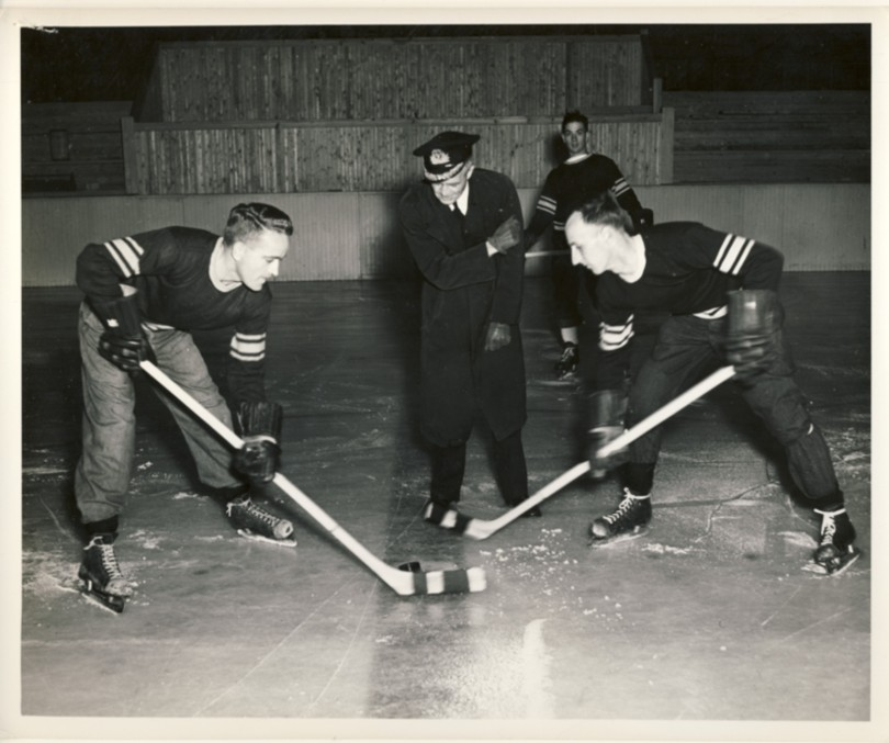 Image for RCN Photograph of  HMCS Cornwallis  Artificial Rink November 16st, 1950