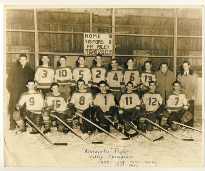 Image for Photograph of the Annapolis Tigers Valley [Nova Scotia]  1948-1949, 1949-1950 & 1950- 1951