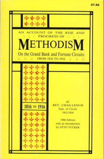 Image for An Account of the Rise and Progress of Methodism On the Grand Bank and Fortune Circuits From 1816 to 1916