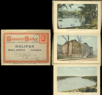 Image for Souvenir Folder containing 16 Views of Halifax, Nova  Scotia Canada