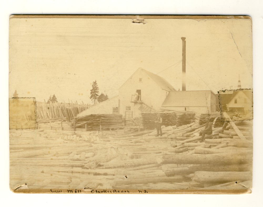 Image for Photograph of Saw Mill Clarke's Beach Newfoundland