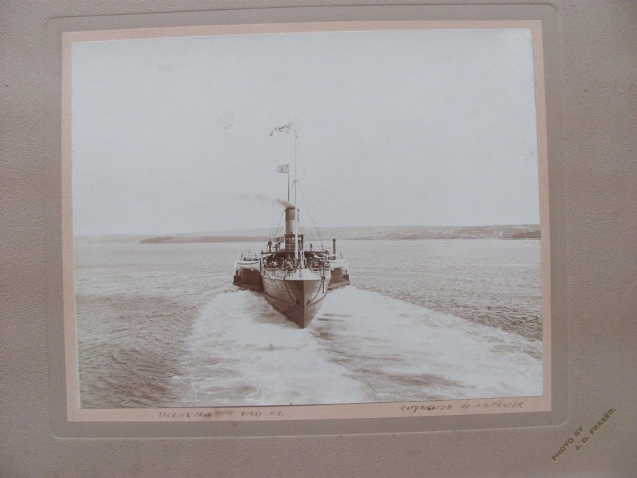 Image for Steamship Prince Rupert Backing From Pier Digby, N.S. (Signed by photographer)