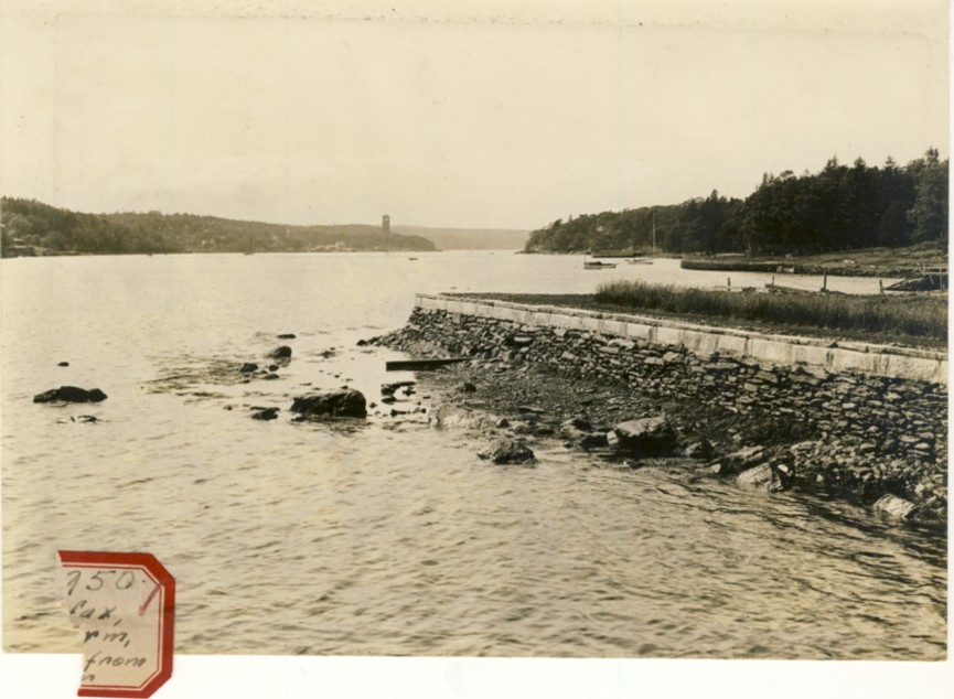 Image for Photograph of Halifax N.W. Arm, Tower from Pier