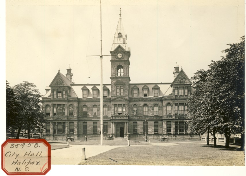 Image for Photograph of City  City Hall Halifax,N.S.