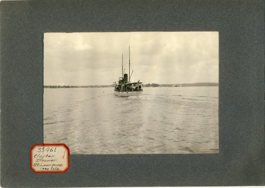 Image for Photograph of Clayton Steamer St. Lawrence 1000 Isls