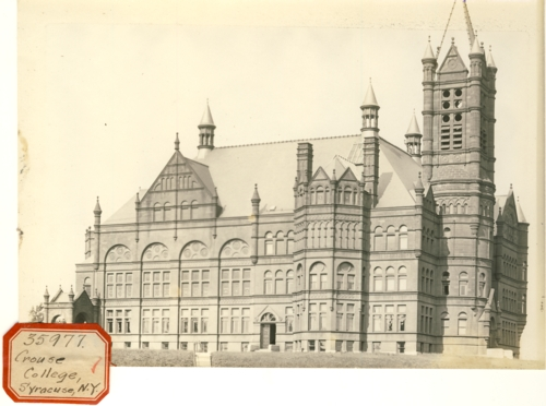 Image for Photograph of Crouse College, Syracuse, NY (New York)