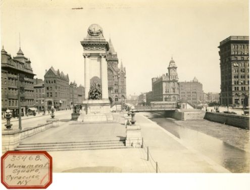 Image for Photograph of Monument Square Syracuse, NY (New York)