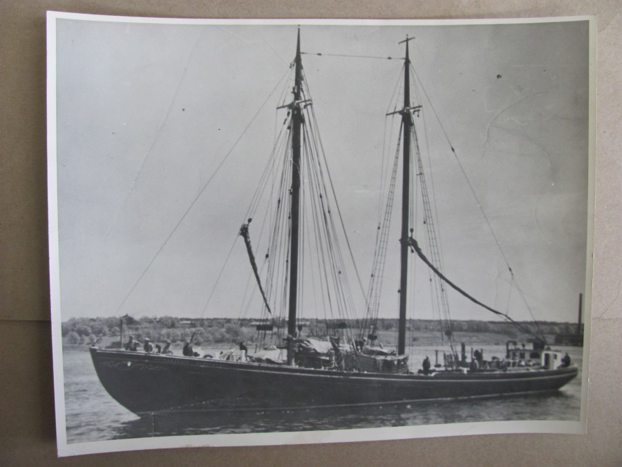 Image for Photograph of the Schooner Marjorie & Dorothy build by Smith & Rhuland 1934