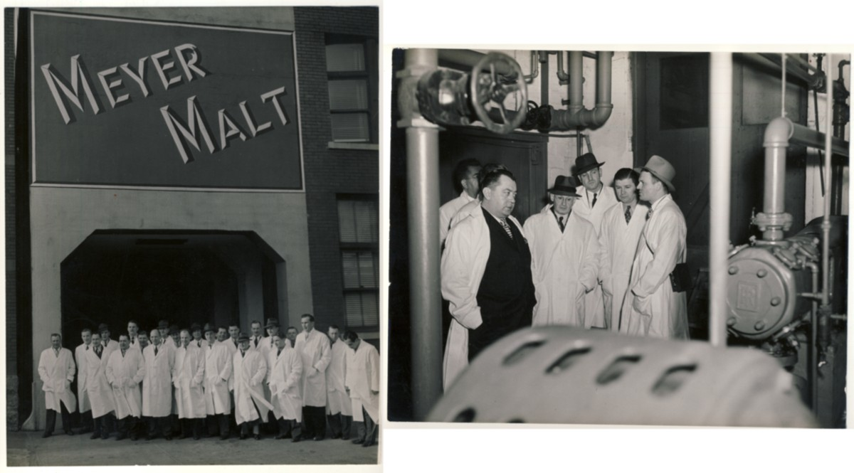 Image for Two Untitled Photographs -Meyer Malt - George J. Meyer Malt & Grain Brewing Company, Buffalo, N.Y.
