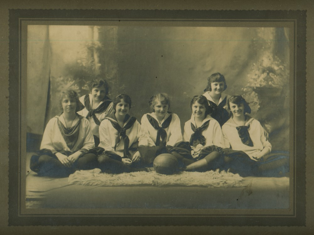 Image for Photograph of the New Glasgow High School; Girls Basketball team 1917-1918