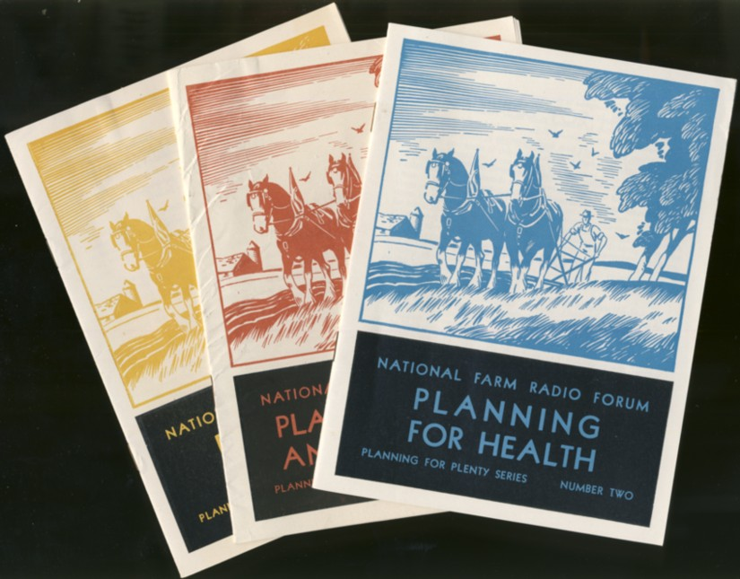 Image for National Farm Radio Forum Planning, Prices and Controls  Planning For Plenty Series, Number1-3 ( first 3 issues)