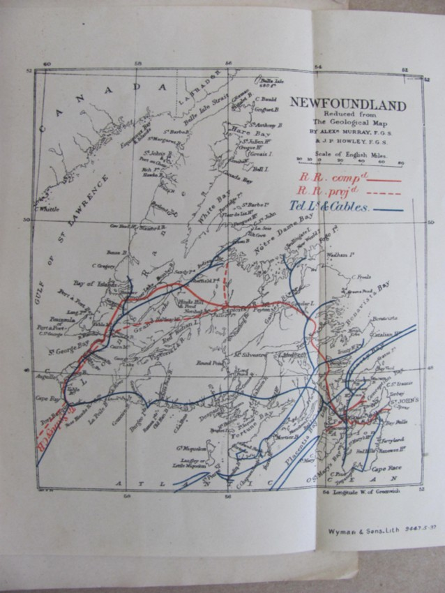 Image for Newfoundland, With Map. Information For Intending Emigrants