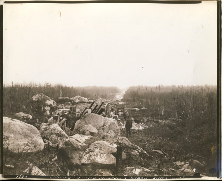 Image for 1937 Looking Toward Mitchell's Brook Queens County (Nova Scotia)