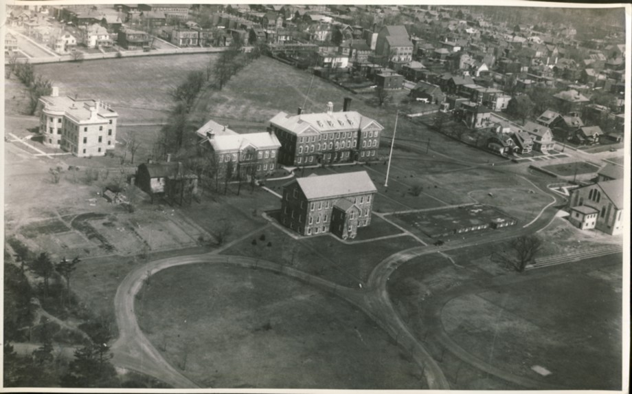 Image for Dalhousie University from the air in the 1930's