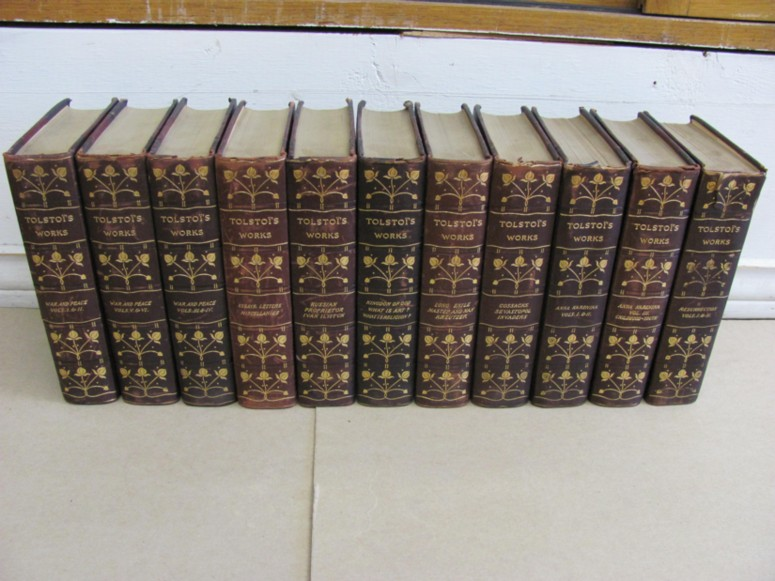 Image for The Complete Works of Lyof N. Tolstoi (11 volumes of 12)