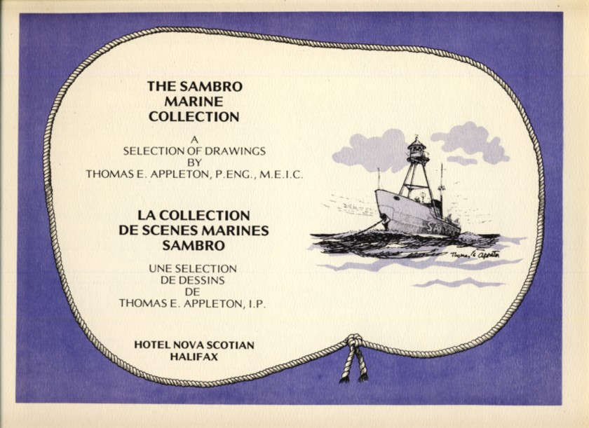 Image for The Sambro Marine Collection. A Selection of Drawings by Thomas E. Appleton, P. Eng., M.E.I.C.