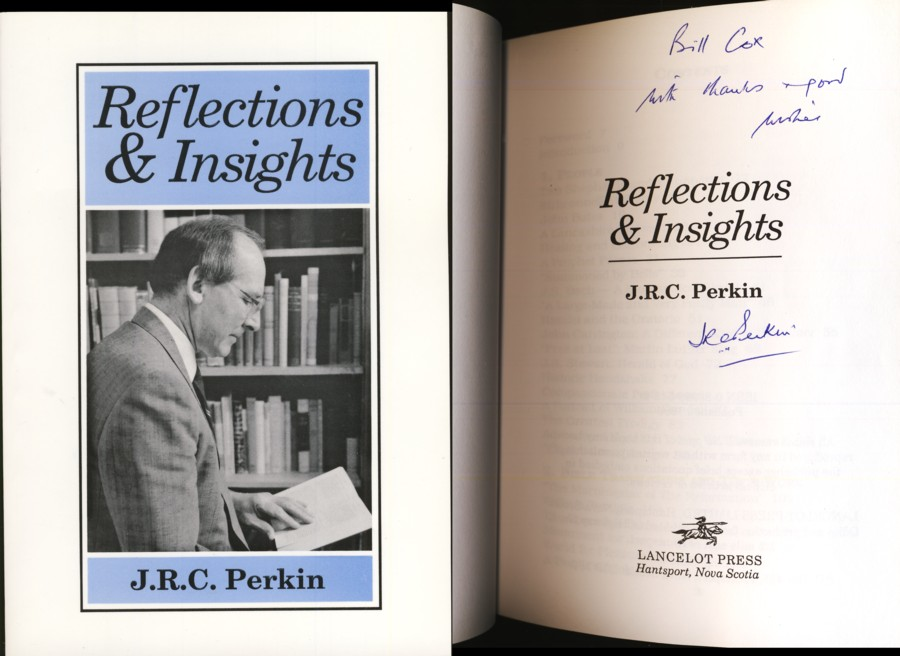 Image for Reflections and Insights (Signed by author)