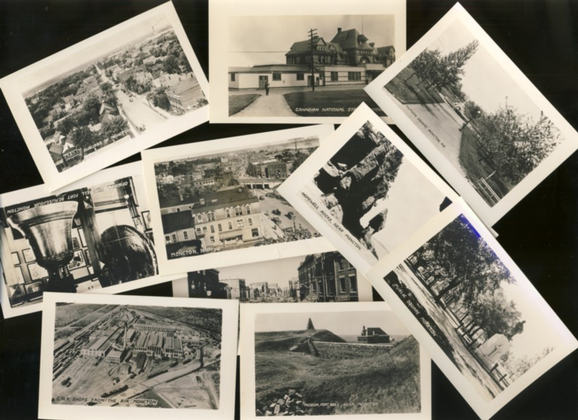 Image for Ten small photographs of Moncton, New Brunswick (1930's)