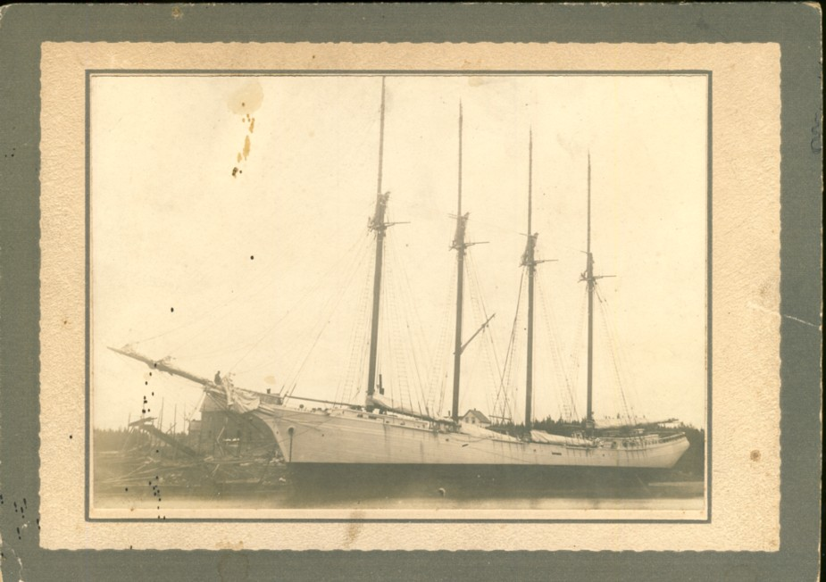 Image for Photograph of  sailing ship 'Cashier'