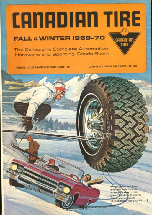 Image for Canadian Tire Fall & Winter 1969-70  The Canadian's Complete Automotive Hardware and Sporting Goods Store