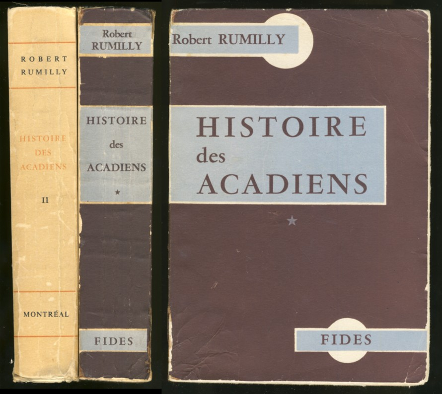 Image for History des Acadiens (2 volumes)