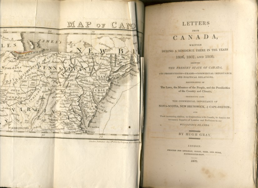 Image for Letters From Canada, Written During A Residence There In The Years 1806, 1807 and 1808; Shewing The Present State Of Canada,