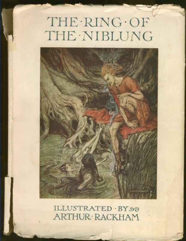 Image for The Ring of the Niblung A Trilogy with a Prelude by Richard Wagner Translated into English by Margaret Armour [Illustrated by Arthur Rackham] The Rhinegold & the Valkyrie; and Siegfried & the Twilight of the Gods. [2 volumes in one]