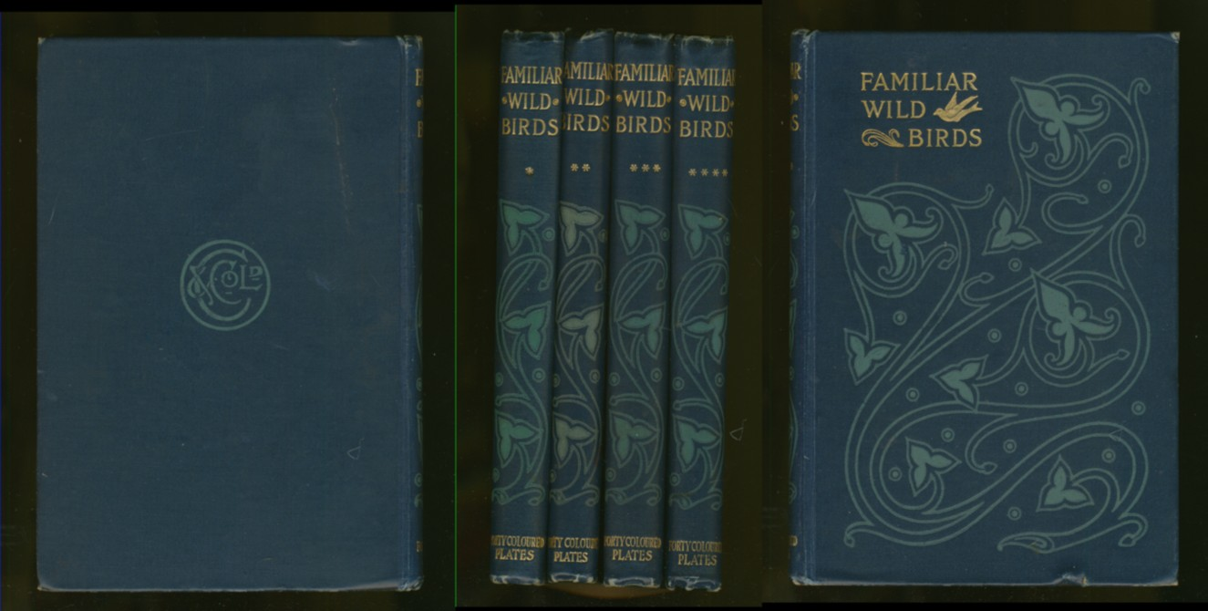 Image for Familiar Wild Birds (First through Fourth  Series in 4 volumes)