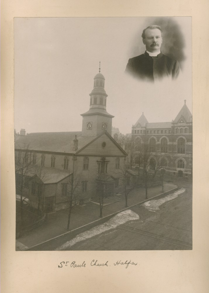 Image for Photograph of Saint Paul's Church, Halifax, (Nova Scotia and Rev. Dr. William J. Armitage)