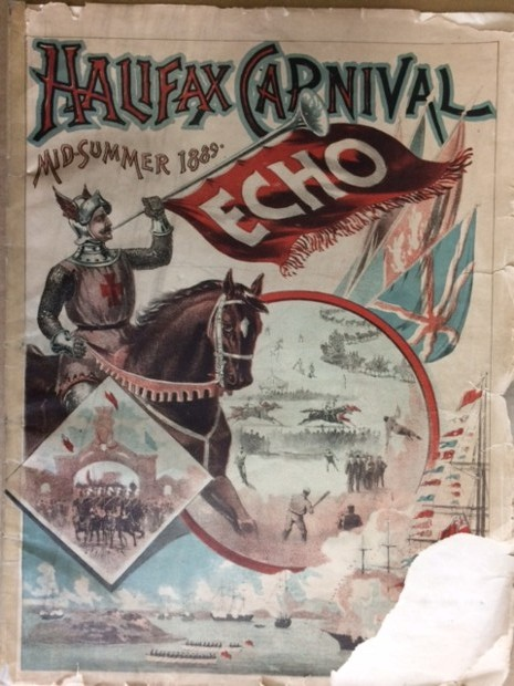 Image for Halifax Carnival Echo Mid-Summer 1889. Halifax, N.S., Aug. 5-10